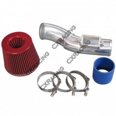 """3"""" Turbo Air Intake Kit For 98-05 Lexus IS300 2JZ-GTE Swap With Stock Twin Turbo"""