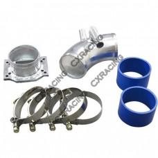 Intake Piping MAF Flange + Air Intake pipe kit For BMW E30