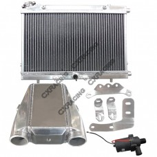 Air Water Intercooler Heat Exchanger Pump For 64-68 Ford Mustang V8