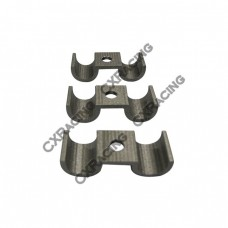 Universal Stainless Steel Fuel Tube Pipe Brackets 10mm OD 3 pcs