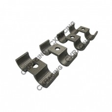 Universal Stainless Steel Fuel Tube Pipe Brackets 10mm OD 4 pcs