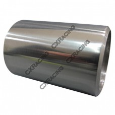 """2.25"""" O.D. Extruded 304 Stainless Steel Straight Pipe, 3"""" Long, Polished Finishing"""