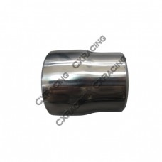 """304 Stainless Steel Manifold Header Reducer Pipe 3mm 2.5-2.25"""" Polished"""