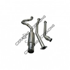"""Exhaust Catback 2.5"""" Stainless Steel for 83-87 Toyota Corolla AE86 RWD"""