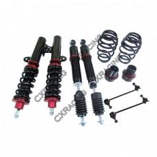 CoilOver Suspension Kit for 09 + Honda FIT, 2nd Gen USA Model;Spring Rate: Front 6kg/ Rear 6kg