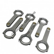H-Beam Connecting Rods (6 PCS) for Nissan RB26/RB25 Engine