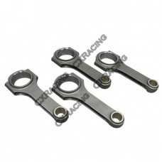 H-Beam Connecting Rods (4 PCS) for Audi VW 4Cyl 2.0L Engine: FSI, TFSI