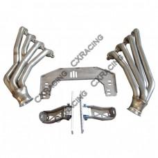 LS1 Engine T56 Transmission Mount Header Kit For Nissan 350Z Swap LSx