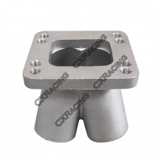 Cast Stainless Steel 4-1 Turbo Header Manifold Merge collector T3 T4