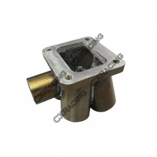11 Gauge 304 Stainless Steel 4 Cylinder T4 Header Merge Collector
