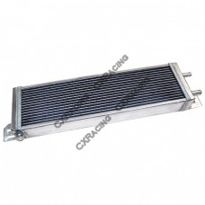 "Aluminum Heat Exchanger For Air to Water Intercooler Applications, Core: 21""x6""x2.5"""