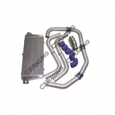 """31x12x3 Intercooler + 2.5"""" Piping Kit T-Clamps For LANCER"""