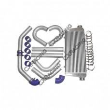 "30x11x3 inch Universal Intercooler + 2.5"" Piping Kit  for CIVIC Jetta"