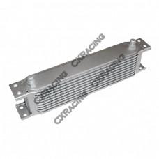 "Aluminum Oil Cooler, 11"" Core, 10 Row, AN6 Fitting,High Performance"
