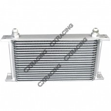 "Aluminum Oil Cooler 11"" Core 19 Row AN10 Fitting Hi Performance"