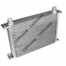 "Aluminum Oil Cooler 11"" Core 25 Row AN10 Fitting Hi Performance"