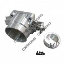 Q45 80mm Billet Aluminum Throttle Body for NISSAN SKYLINE Silvia S13 S14 S15 RB20DET RB25DET