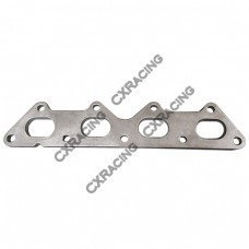 Stainless Exhaust Turbo Manifold Header flange Eclipse Talon 4G63 1G 2G DSM