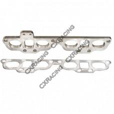 Exhaust Manifold Steel flange 240SX S13 S14 SR20DET + Gasket