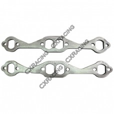 Stainless Steel SBC Exhaust Header Flange Chevy Small-Block 262 283 305 327 350