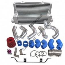 Intercooler + Piping + Turbo Intake Kit For 98-05 Lexus IS300 2JZ-GTE Upgrade Single Top Mount Turbo