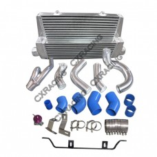 Intercooler + Piping Kit For 98-05 Lexus IS300 2JZ-GTE Swap with Factory Twin Turbo