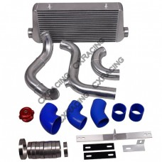 """4"""" Core Intercooler Piping BOV Kit For 79-93 Ford Mustang LS1 LSx Engine Swap"""