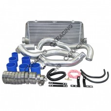 "FMIC Intercooler Kit + HKS Style BOV For 89-99 240SX S14 S15 SR20DET, 24""x11""x3"" Core, 2.75"" Inlet"