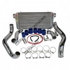 "Front Mount Intercooler Kit For 89-99 240SX S14 S15 SR20DET, Intercooler:31""x11""x3"""