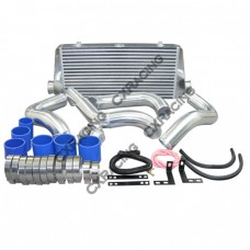 "FMIC Intercooler Kit + HKS Style BOV For 89-99 240SX S13 SILVIA SR20DET, 24""x11""x3"" Core, 2.75"""