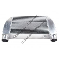 "V-Mount 25""x12""x4"" Turbo One Side Intercooler For Mazda RX7 Ford F150"