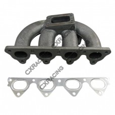 Cast Turbo Manifold For Civic D15 D16 D T3 T4 with SS Gasket