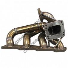 11 Gauge Thick Turbo Manifold For 91-99 NISSAN 240SX S13 S14 KA24DE T3 T4