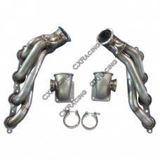 Twin Turbo T4 Manifold For 04-06 Pontiac GTO LS1 LS2 Engine NA-T