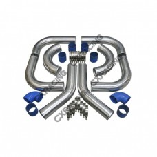 """4"""" UNIVERSAL TURBO INTERCOOLER PIPING KIT WITH PIPE 120 DEGREE"""