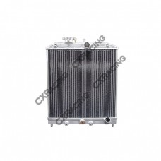 "3 Rows Aluminum Radiator For 92-00 Honda Civic DEL SOL B16 B18, 1.25"" Inlet & Outlet"