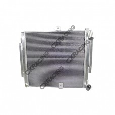 Aluminum Radiator For 86-92 2nd Gen Mazda RX-7 RX7 FC Manual Transmission