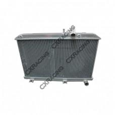 2 Rows Full Aluminum Cooling Radiator For 03-08 MAZDA RX8 Radiator Manual Transmission