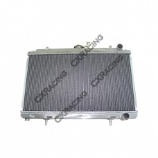 "Radiator For 95-99 Nissan 240SX S14 with KA24 (Stock US Model) Engine 25""x14""x2"",1.25"" Inlet"