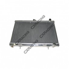 Aluminum Radiator For NISSAN SKYLINE 89-93 with Manual Transmission