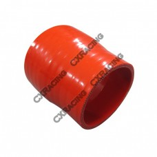 """2""""-1.6"""" Red Silicon Hose Reducer For Intercooler Pipe 3"""" Long"""