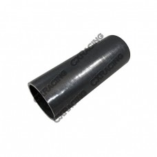 """2.5"""" Straight Black Silicon Hose For Turbo Intercooler Pipe 7.5"""" Long"""