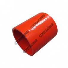 """2.5"""" Red Silicon Hose Coupler For Turbo Intercooler Pipe"""