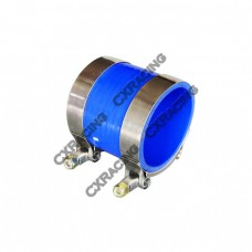 """2.5"""" BLUE SILICONE HOSE + T-CLAMP 2 INTERCOOLER/PIPING"""