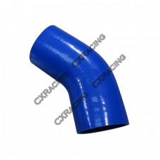 "Silicon Hose 3"" 45 Deg Coupler For Turbo Intercooler Pipe"