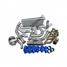 T4 T70 Turbo Intercooler Kit For Land Cruiser J80 1FZ-FE 1FZ 1FZFE