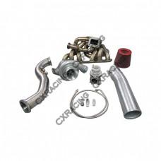 GT35 Turbo Kit For Lexus SC300 2JZGE 2JZ-GE Manifold Downpipe BOV Wastegate