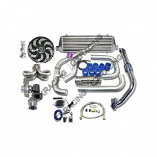 Turbo Kit For 92-00 Honda Civic D15 D16 Engine Ram Style Equal Length Manifold