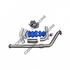 CT20 Turbo Downpipe Piping Kit For 83-88 Pickup 4Runner Hilux 22R-E 22R-TE