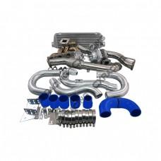 TOP MOUNT GT35 TURBO INTERCOOLER MANIFOLD Kit FOR 08+ GENESIS COUP 2.0T GC